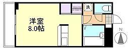 プレアール笹沖[3階]の間取り