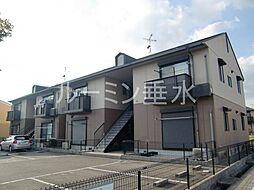 兵庫県加東市上中3丁目の賃貸アパートの外観