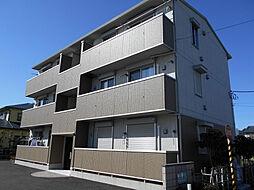 神奈川県厚木市妻田西1丁目の賃貸アパートの外観