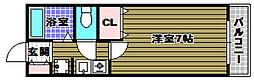 フェスタ千代田[3階]の間取り