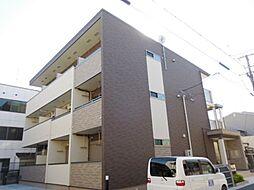 兵庫県尼崎市長洲東通1丁目の賃貸アパートの外観