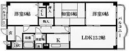 ドムール樋之池[4階]の間取り