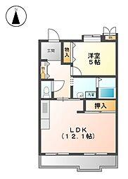 アーバンラフレ志賀 8号棟[8階]の間取り