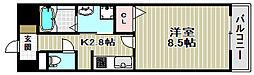アーバンツァ[3階]の間取り