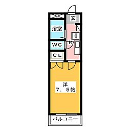 東宝ビル[5階]の間取り