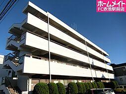 愛知県名古屋市天白区野並4丁目の賃貸マンションの外観