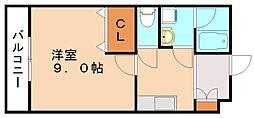 ロイヤルヒルズII[1階]の間取り
