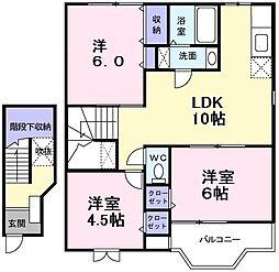 NGT−21'FUKUDA[2階]の間取り