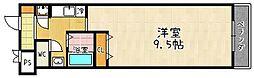 滋賀県大津市大萱7丁目の賃貸マンションの間取り