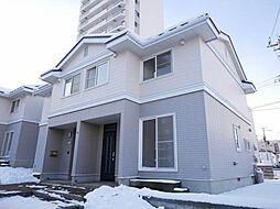 [タウンハウス] 北海道札幌市厚別区厚別中央一条7丁目 の賃貸【/】の外観