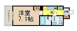 S-FORT山王[10階]の間取り