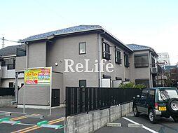東京都国分寺市本多の賃貸アパートの外観