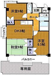 美サイレントマンション2[1階]の間取り