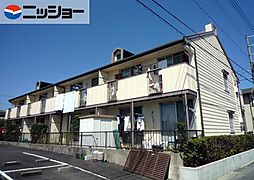 プチタウン神沢A棟[1階]の外観