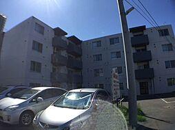 北海道札幌市西区西町北9の賃貸マンションの外観