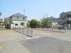 2路線2駅利用可能。緑豊かな閑静な住宅街、お好きなハウスメーカーで建築可能 全3区画。