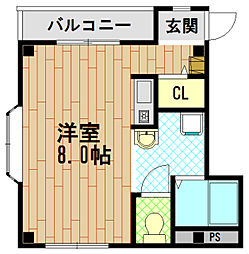 セトルKハウス[3階]の間取り