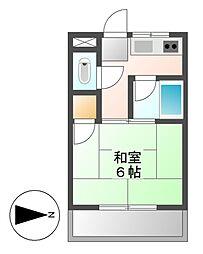 尾頭センタービル[2階]の間取り