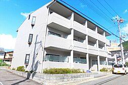 京都府京都市左京区一乗寺野田町の賃貸マンションの外観