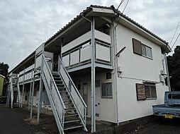 東京都狛江市中和泉1の賃貸アパートの外観