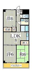 渋谷ビル[4階]の間取り