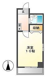 都筑マンション[5階]の間取り