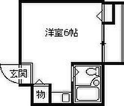 グローバル阪神西宮[1階]の間取り