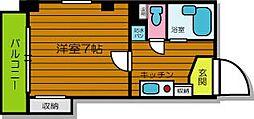 兵庫県尼崎市昭和通9丁目の賃貸マンションの間取り