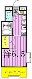 サフィールフォーレ65[114号室]の間取り