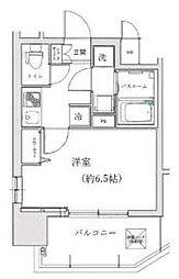 プロシード大阪WESTアドリア[10階]の間取り