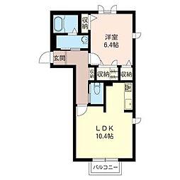Sha Maison I[2階]の間取り