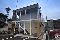 大阪府富田林市常盤町の賃貸アパートの外観