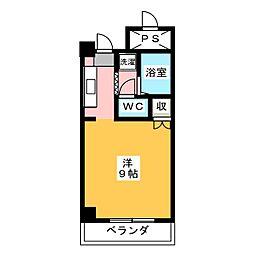 KMコート[4階]の間取り