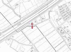現地案内図 全日食kマートまで徒歩約8分