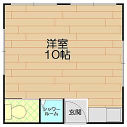 上沢ハウス[3階]の間取り