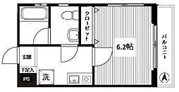 フローラル椎名町[1階]の間取り
