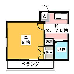 ジクト井出ビル[2階]の間取り