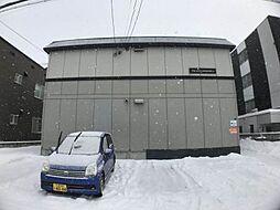 北海道札幌市西区発寒四条5丁目の賃貸アパートの外観