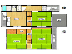 [一戸建] 兵庫県神戸市垂水区南多聞台3丁目 の賃貸【/】の間取り
