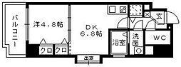 アンジェ−ル高砂[8階]の間取り