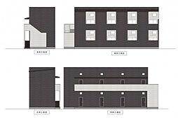 パビユウネッツ ビワジマ(pavillon honnete biwajima)[1階]の外観