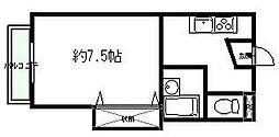 長野県松本市大字惣社の賃貸マンションの間取り