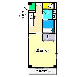 フェニックス スウィート[2階]の間取り