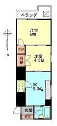 シティタウン久永No.1[3階]の間取り