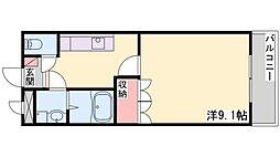 アメニティⅠ[105号室]の間取り