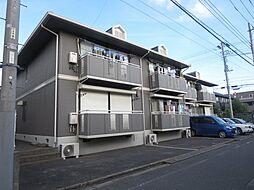 東京都葛飾区細田4丁目の賃貸アパートの外観