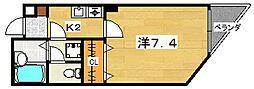 エムチェックビル[4階]の間取り