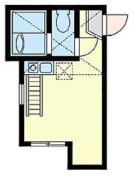 ロックヒル根岸[2階]の間取り