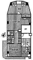 小作台ビル[4階]の間取り