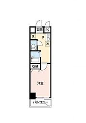 アーバンハイツ6[1階]の間取り